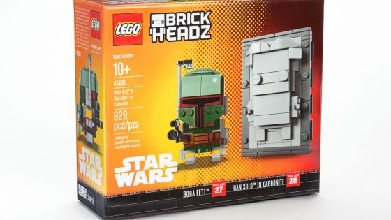 LEGO reveals BrickHeadz Boba Fett & Han Solo in carbonite NYCC Exclusive!