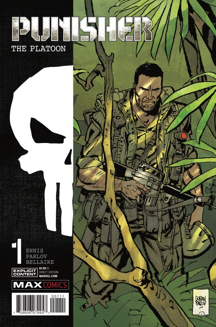 Marvel Preview: Punisher Platoon #1