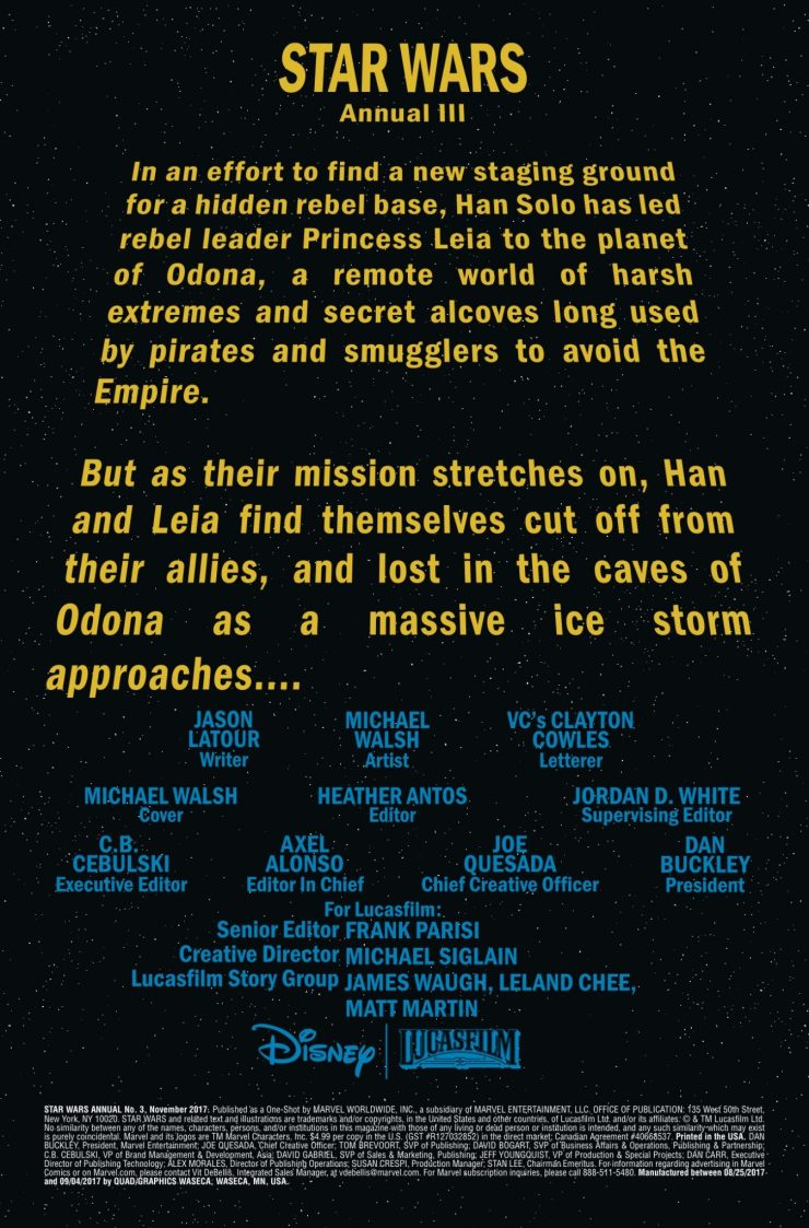 Marvel Preview: Star Wars Annual #3