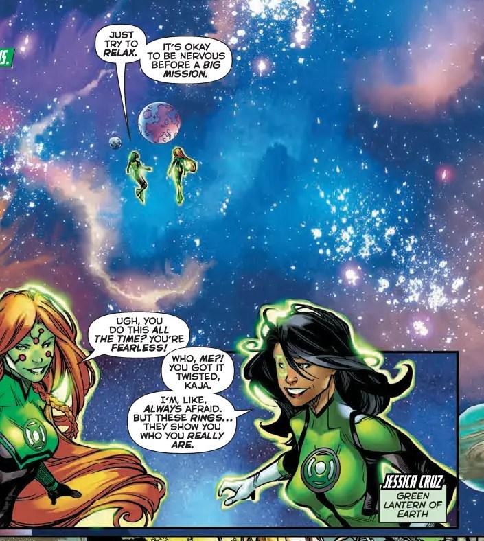 Green Lanterns #30 Review