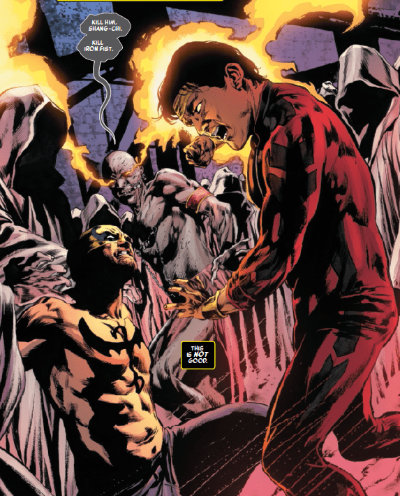 Iron Fist #7 Review