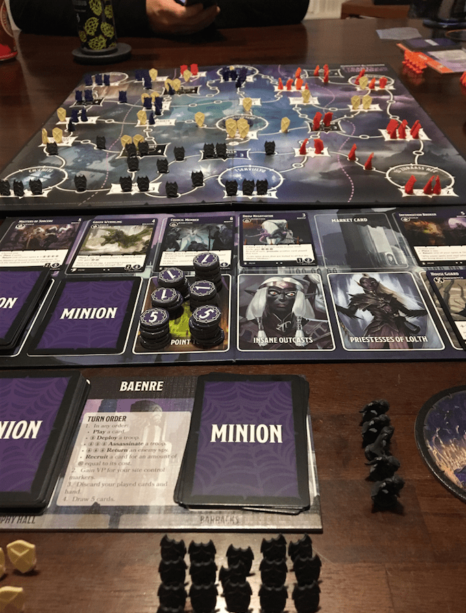 'Tyrants of the Underdark' is well made, easy to learn and offers heavy replay value