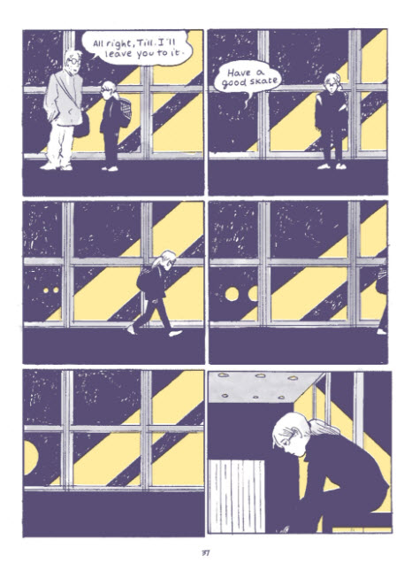 Tillie Walden's 'Spinning' elegantly captures the nuances of awkward moments