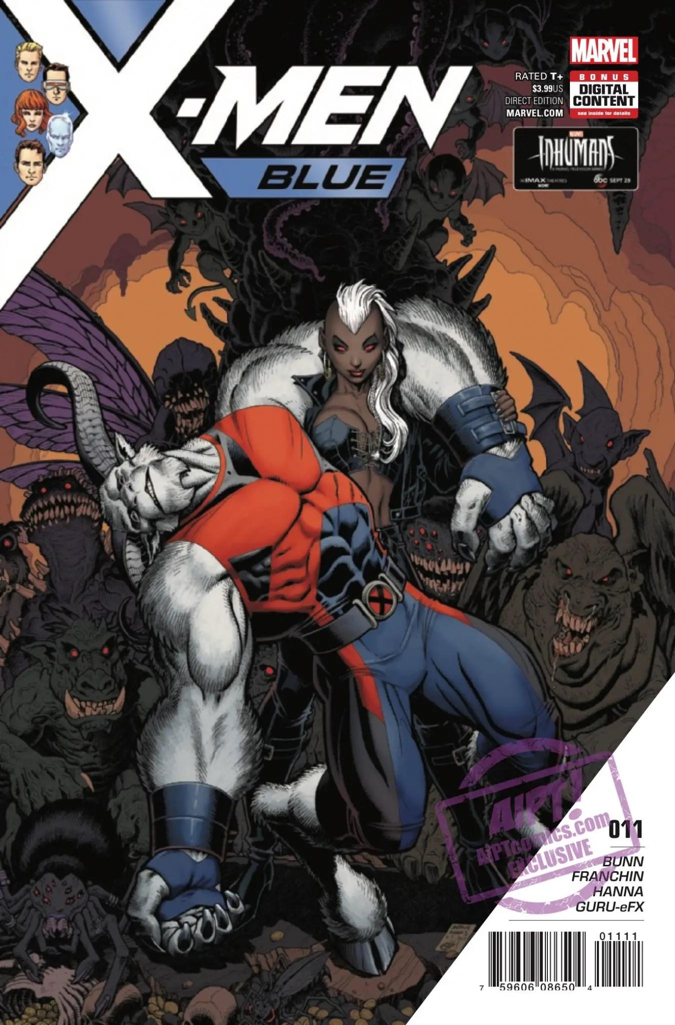 X-Men: Blue #11 Review