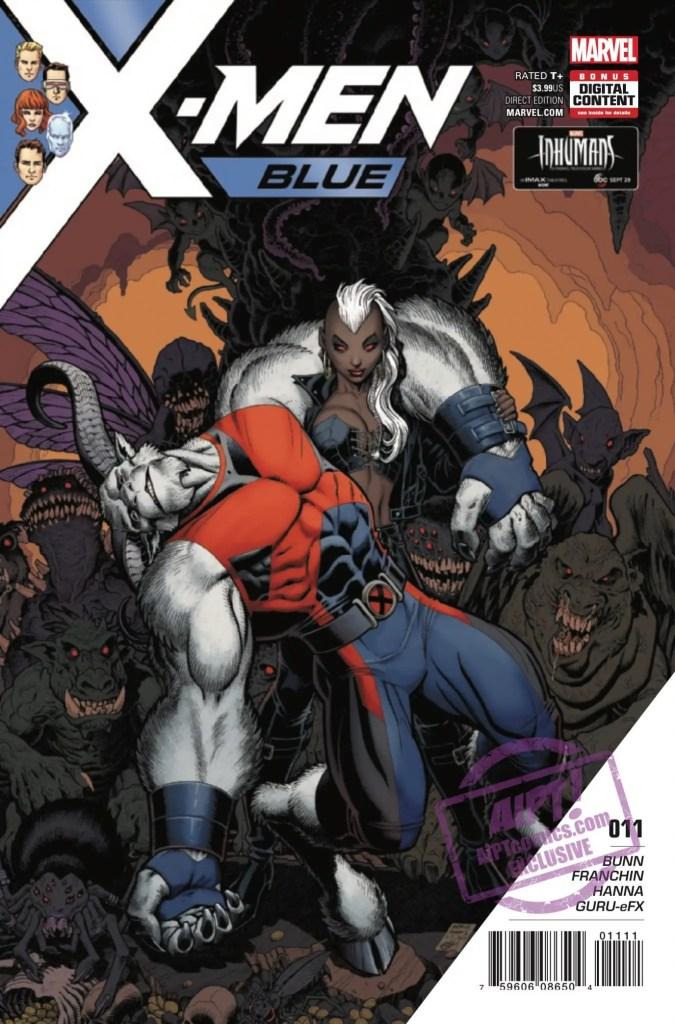[EXCLUSIVE] Marvel Preview: X-Men: Blue #11