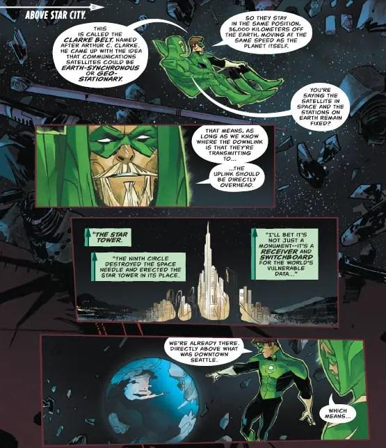"Reality Check: ""Green Arrow"" #30's orbital adventure"