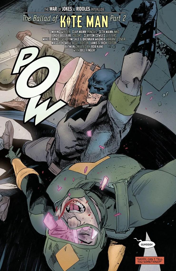 Batman #30 Review: Kite Man's 'Killing Joke' continues as Batman chooses a side in the war