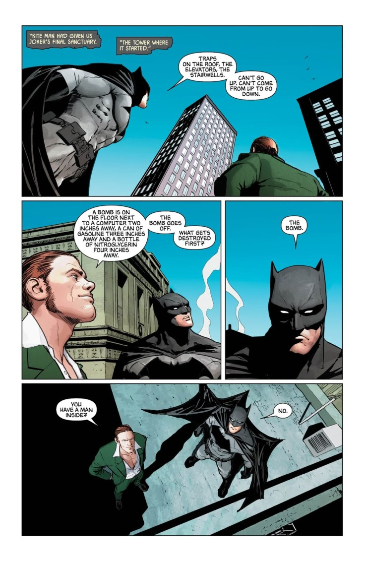 "Batman #31 Review: Another excellent installment in ""The War of Jokes & Riddles"""