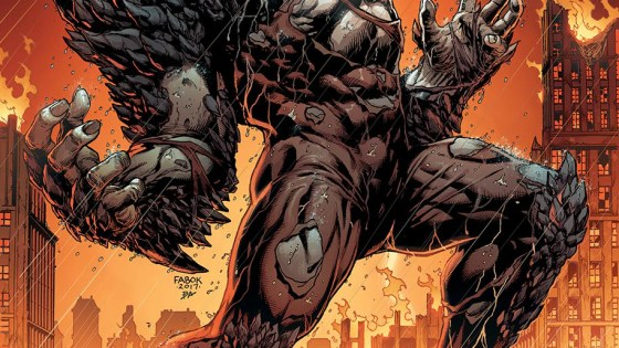 First look at the cover for Batman: The Devastator #1.