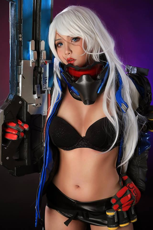 Overwatch: Soldier 76 cosplay by Hana
