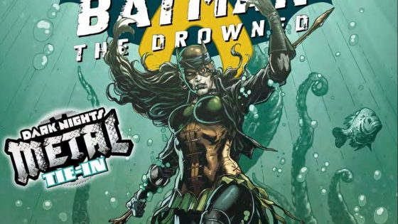 Meet the Drowned, one of the Dark Knights from the Dark Multiverse.
