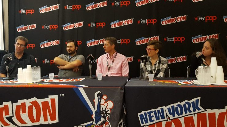 Content Literacy:  Teaching STEM with Comics at NYCC 2017