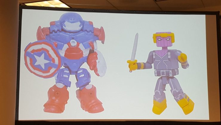 Diamond Select unveils NEW Spider-Man, Captain Marvel Minimates at NYCC 2017