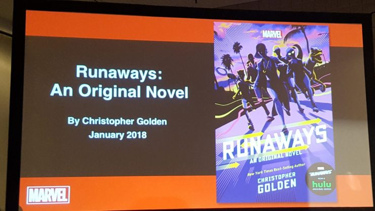 "A ""Runaways"" novel is coming!"