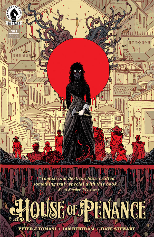 Peter J. Tomasi talks 'House of Penance,' the horror of gun violence and more at NYCC 2017
