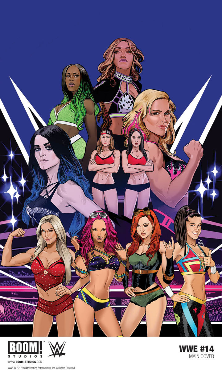 BOOM! Studios' WWE series will shift focus to the Women's Revolution