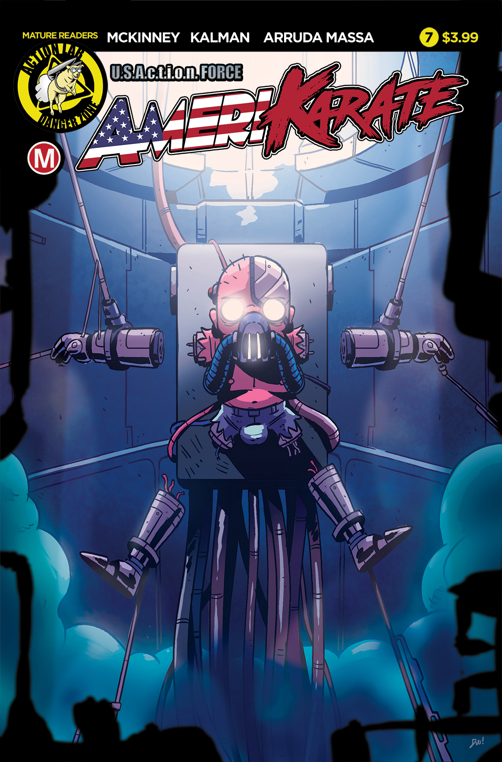Amerikarate #7 Review
