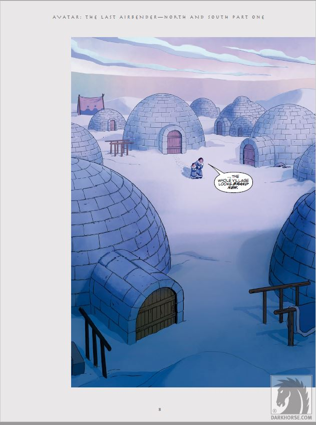 'Avatar: The Last Airbender - North and South Library Edition' is a wonderful addition to the Avatar canon