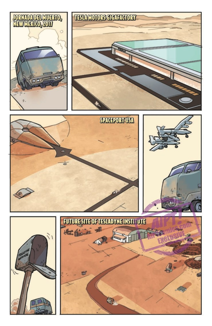 [EXCLUSIVE] IDW Preview: Atomic Robo and the Spectre of Tomorrow #1