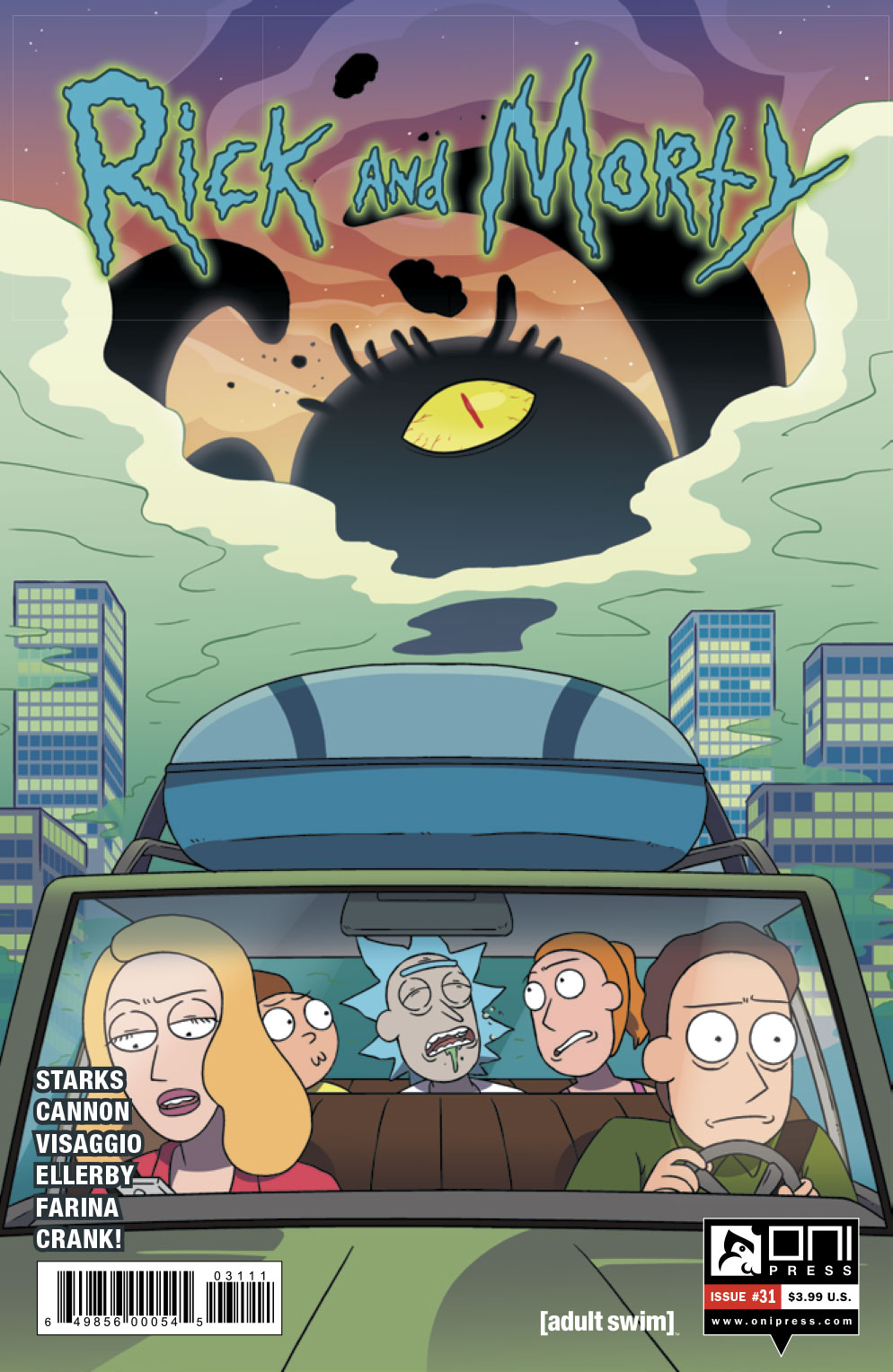 Rick and Morty #31 Review