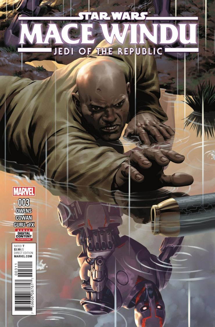 Marvel Preview: Star Wars: Jedi of the Republic: Mace Windu #3
