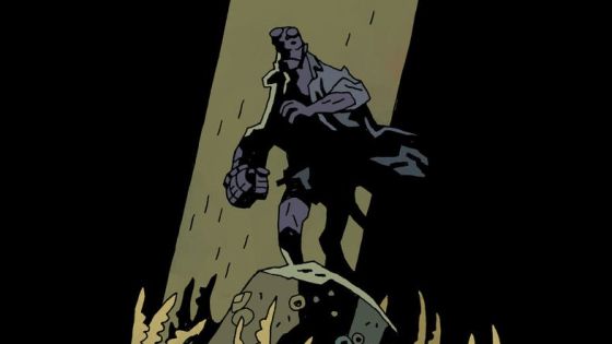 The final Hellboy story, and Mike Mignola's best work.