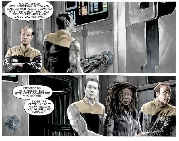 Star Trek: TNG: Mirror Broken #4 Review