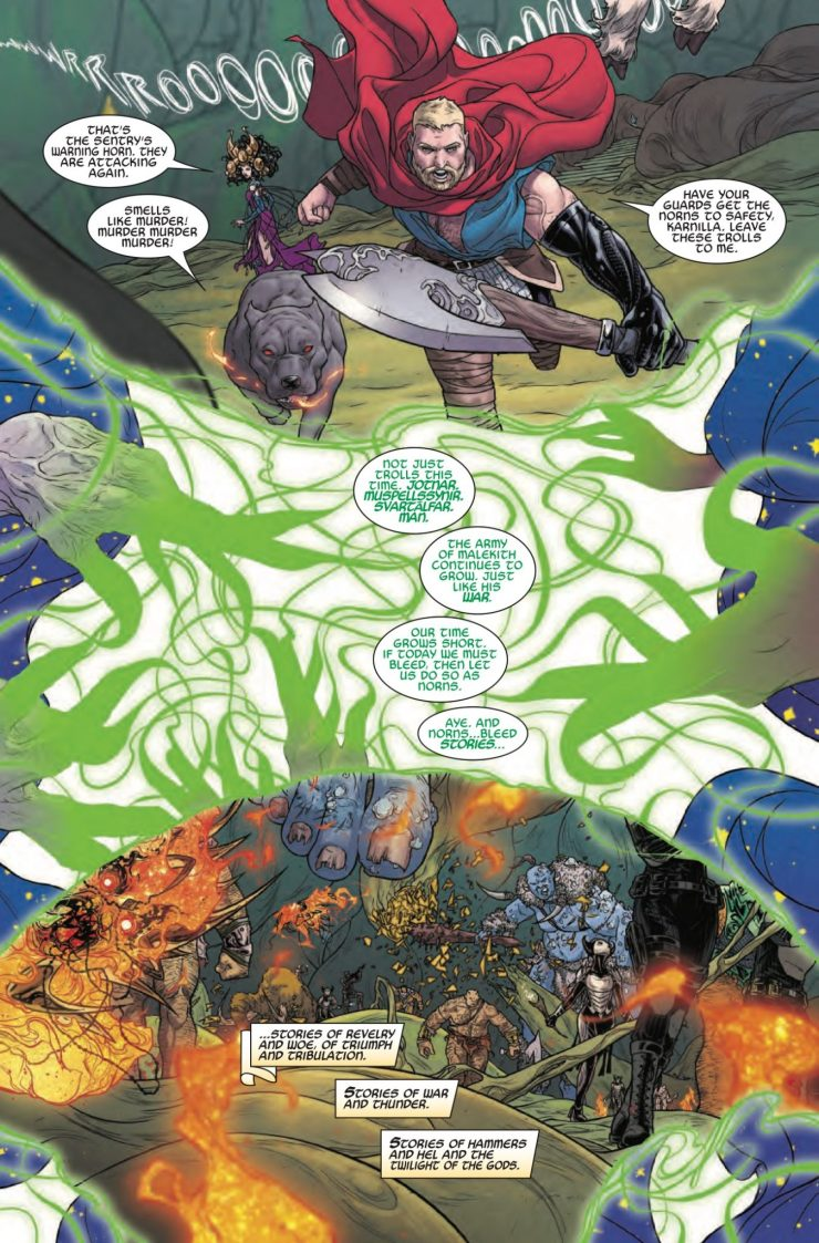 Marvel Preview: The Mighty Thor #700