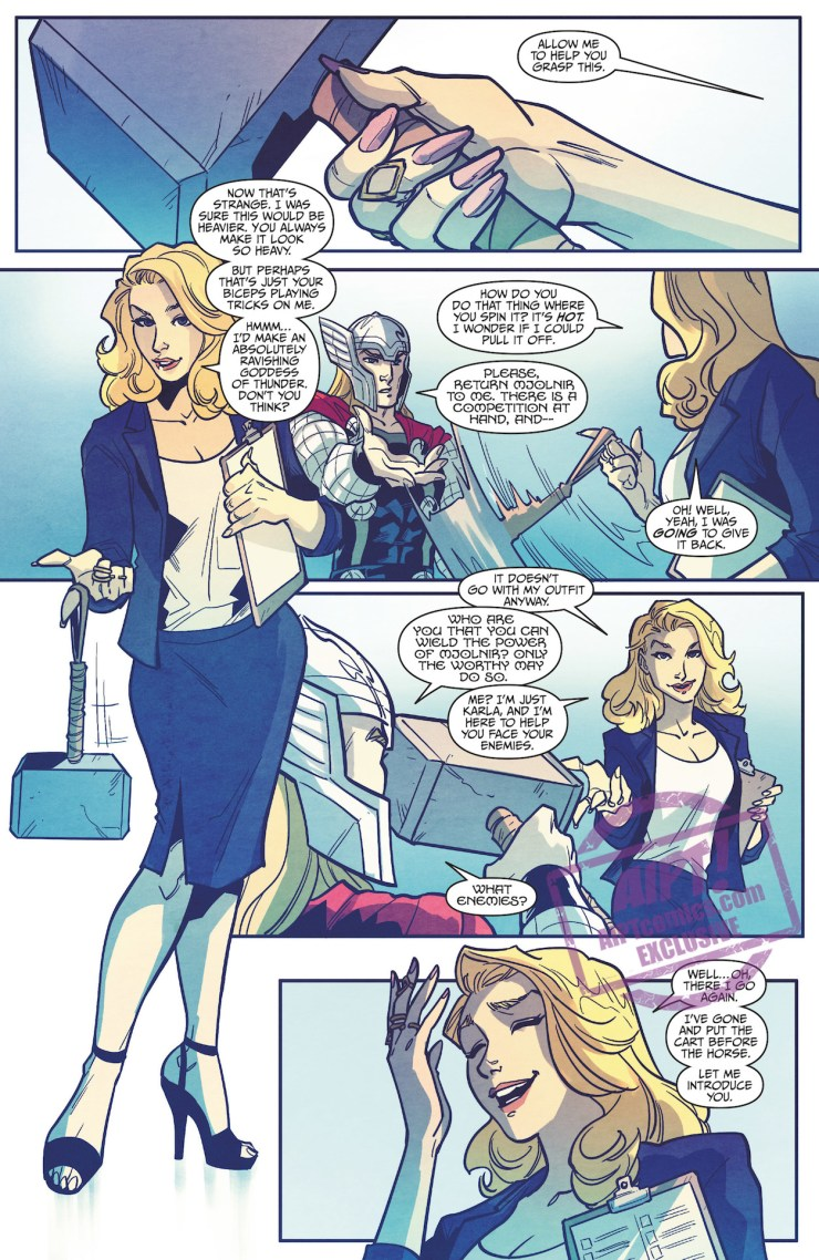 [EXCLUSIVE] Marvel Preview: Thor vs. Hulk: Champions of the Universe #4
