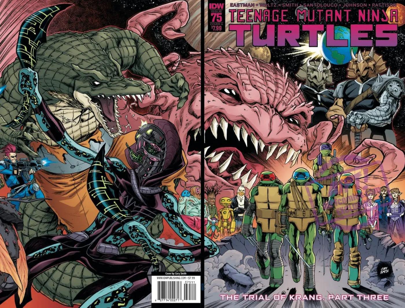 Teenage Mutant Ninja Turtles #75 Review
