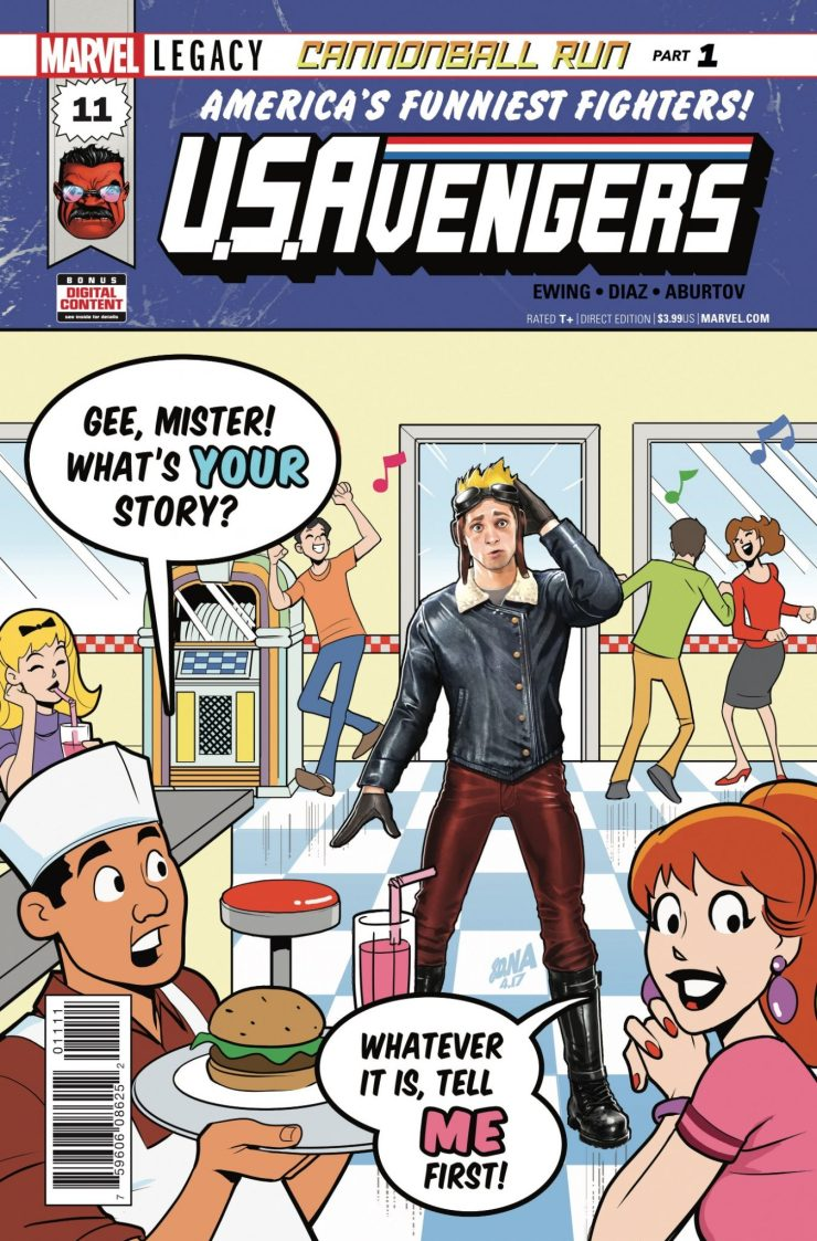 Marvel Preview: U.S.Avengers #11