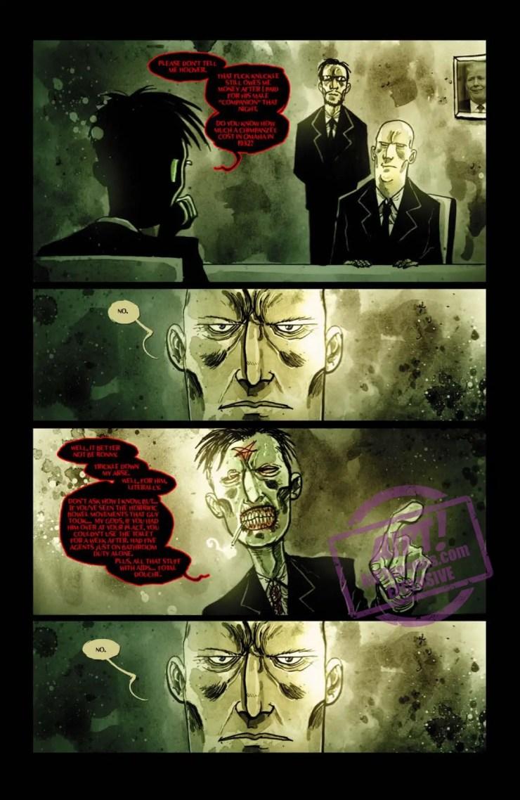 [EXCLUSIVE] IDW Preview: Wormwood, Gentleman Corpse: Mr. Wormwood Goes to Washington #2