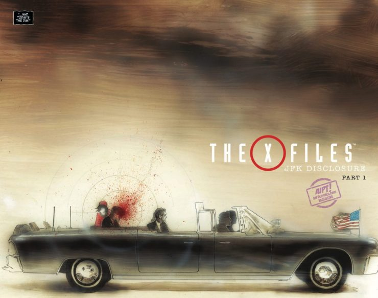[EXCLUSIVE] IDW Preview: The X-Files: JFK Disclosure #1