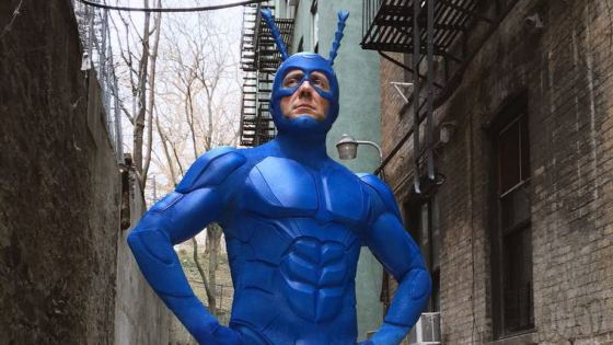 NYCC attendees got a first look at The Tick's spring return