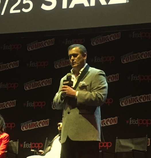 "Bruce Campbell on season 3 of Ash vs. Evil Dead: ""You're going to pick your fucking jaw up off the floor"""