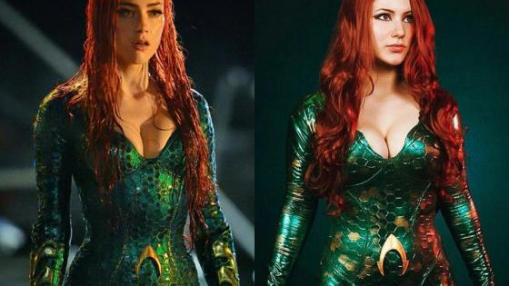 When photographs of Amber Heard as Mera in upcoming DC film Aquaman (2018) first surfaced, the Queen of Atlantis and wife of Aquaman's appearance was markedly different from that of Snyder's Justice League:
