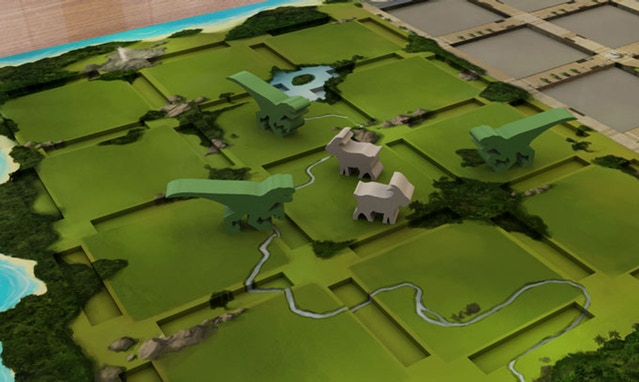"Kickstarter Alert:  Build a better park with ""DinoGenics"" board game"