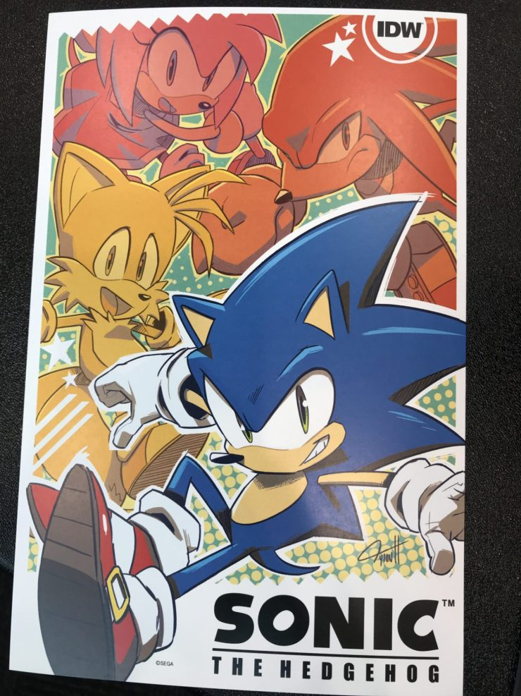 Ian Flynn and Tyson Hesse return for IDW's Sonic the Hedgehog in April 2018