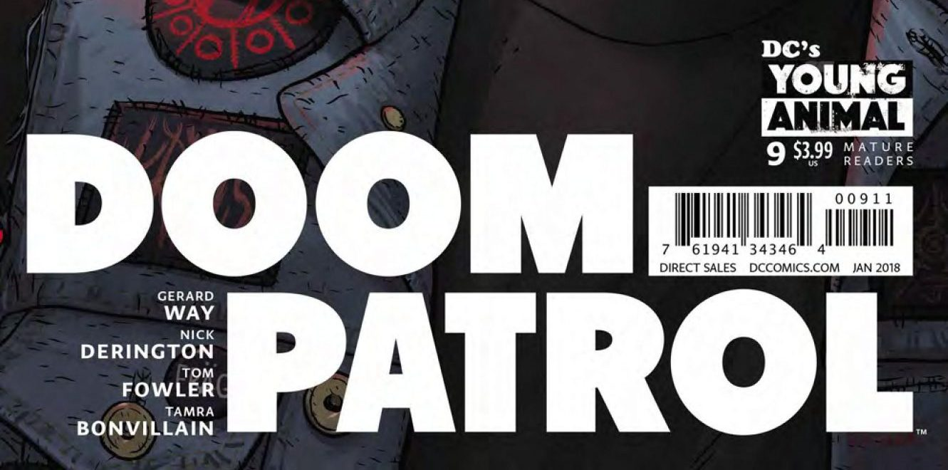 Doom Patrol #9 review: The good, the weird and the [redacted]