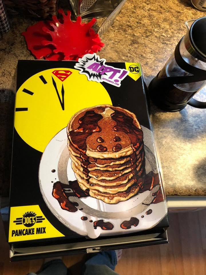 A 'Doomsday Clock' breakfast with Rorschach