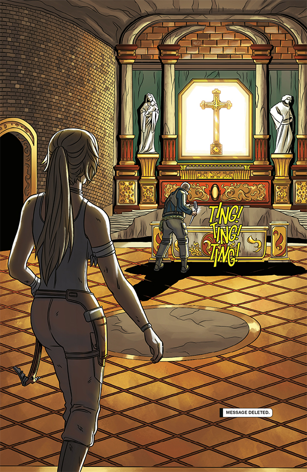 Tomb Raider: Survivor's Crusade #1 Review