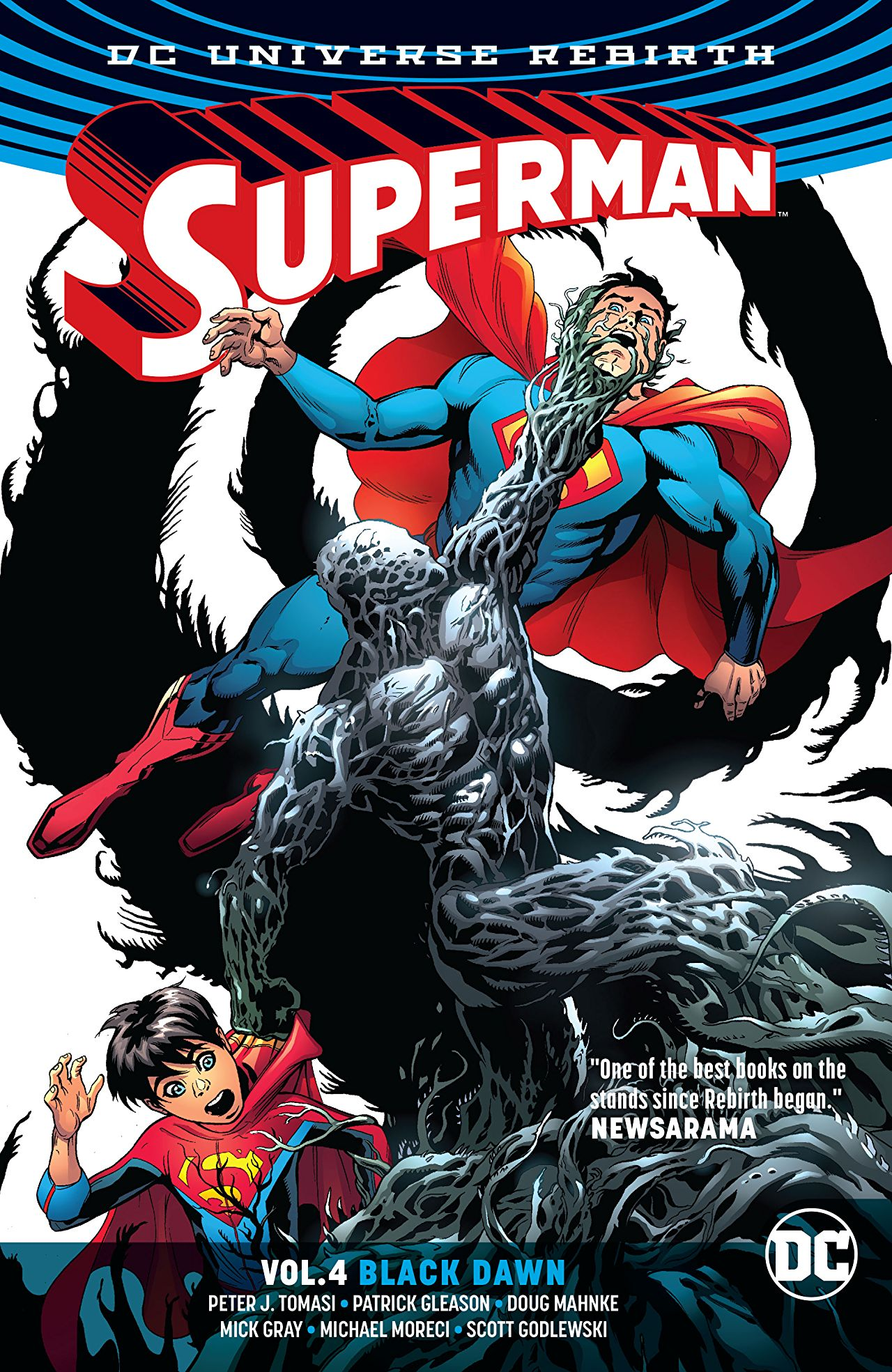 'Superman Vol. 4: Black Dawn' review: Tomasi and Gleason's excellent run continues