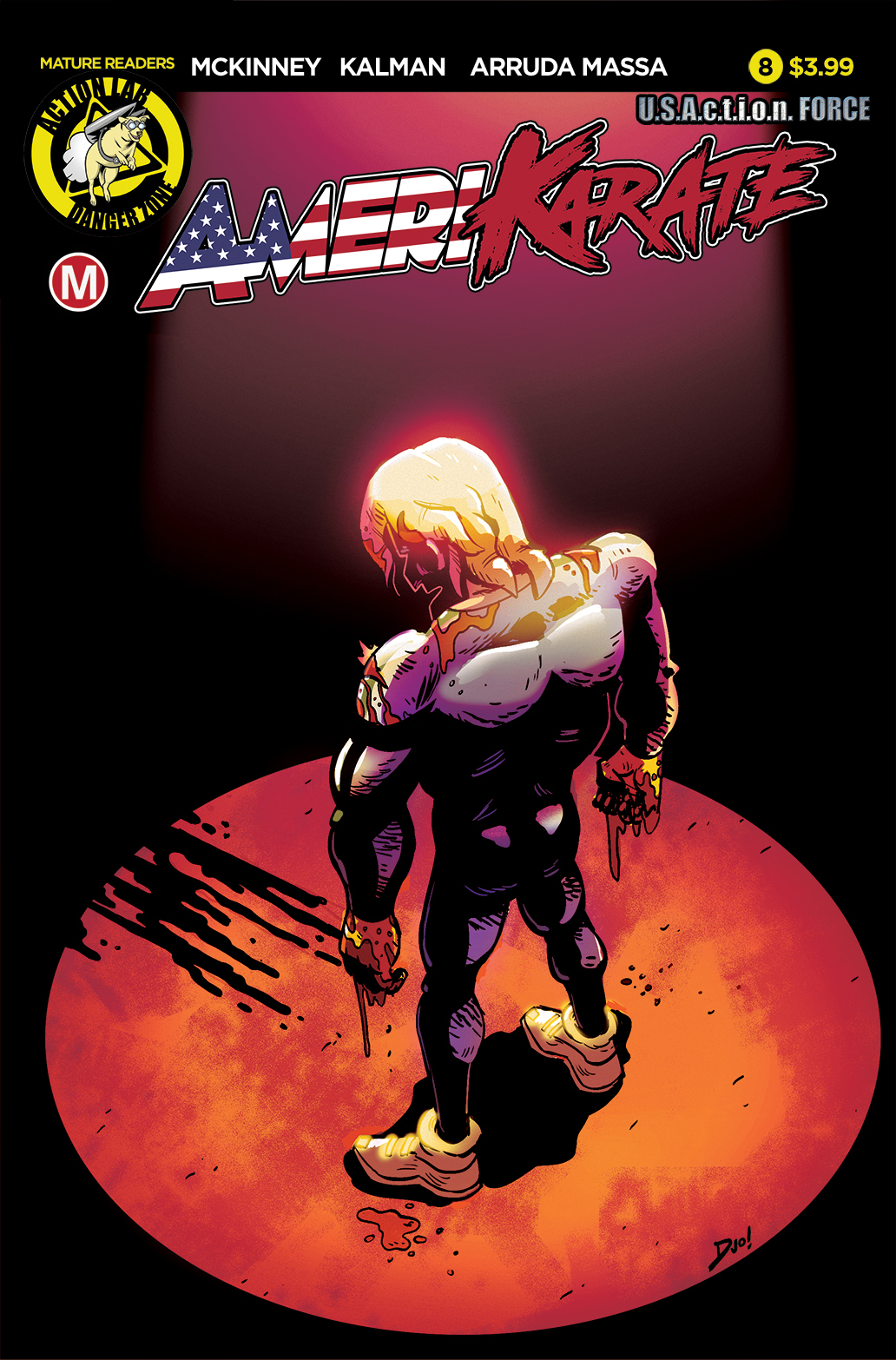 Amerikarate #8 Review
