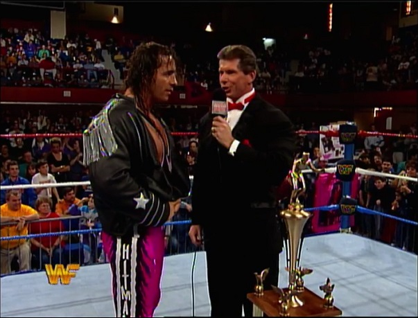 Bret Hart Wins Superstar of the Year