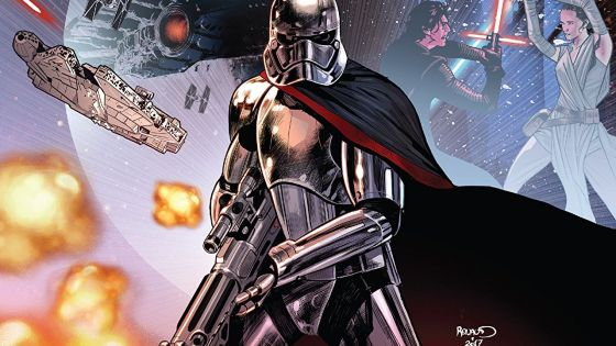In the end, Phasma must tie up loose ends, return to the First Order, and achieve her singular goal: survival above all else.