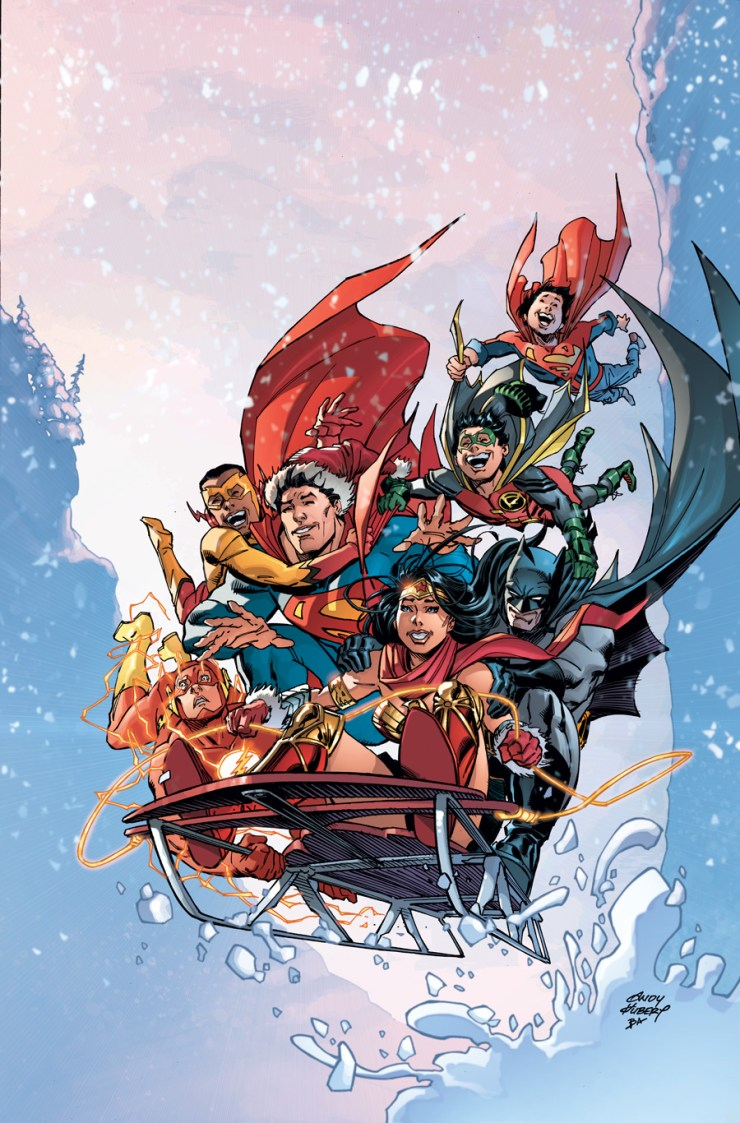 DC Preview: DC Universe Holiday Special 2017 #1