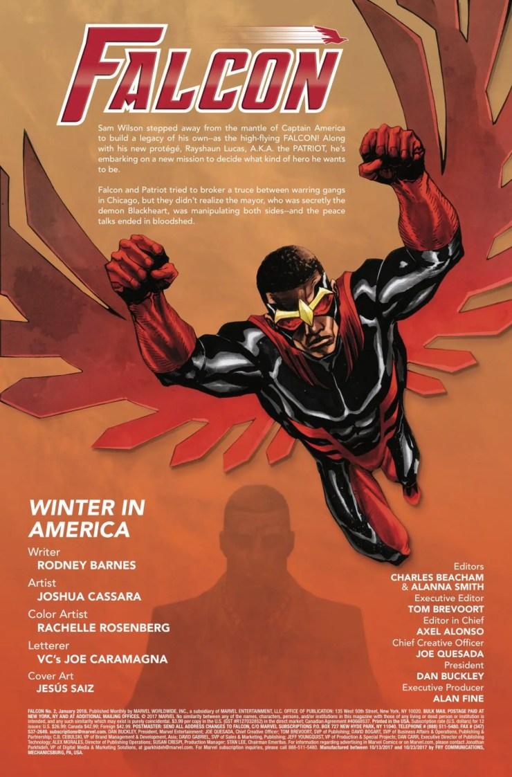 Marvel Preview: Falcon #2