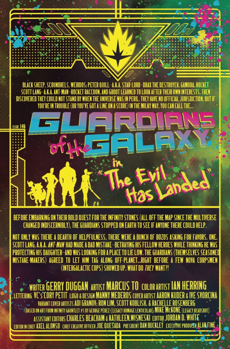 Marvel Preview: Guardians of the Galaxy #146