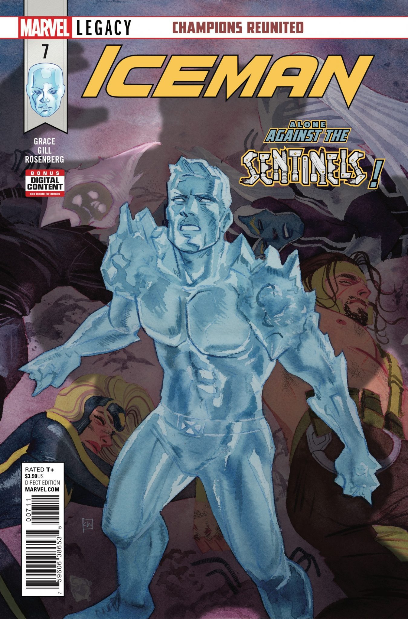 Iceman #7 Review