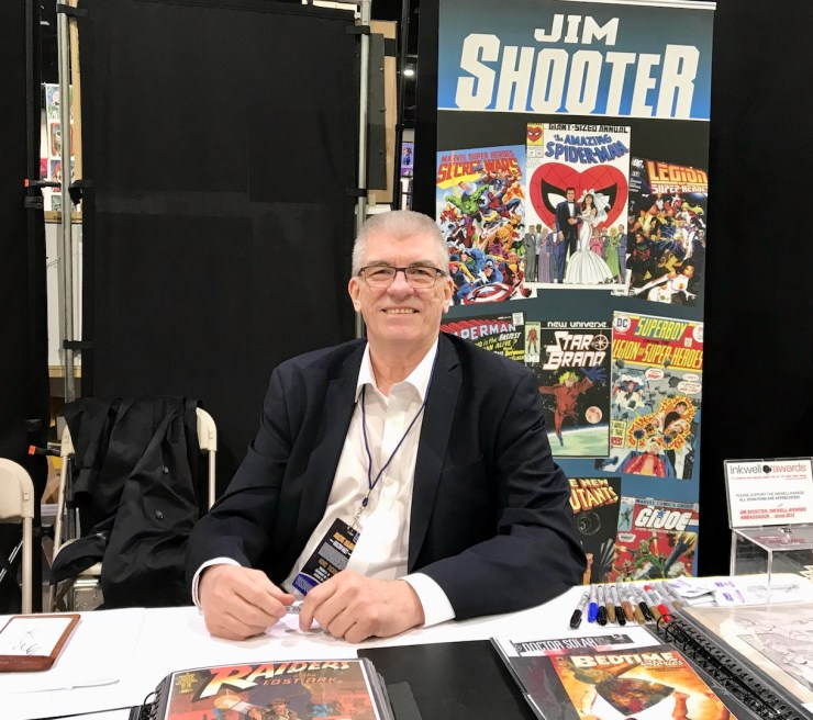 Interview: Legendary Marvel Comics Editor-in-Chief Jim Shooter on the current state of Marvel, creator incentives and more